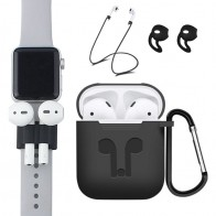 US $0.57 30% OFF|5Pcs/Set Earphone Case For Apple AirPods Accessories Air Pods Case Cover For Airpods Apple Soft Silicone Protective AirPod Cases-in Earphone Accessories from Consumer Electronics on Aliexpress.com | Alibaba Group