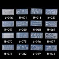 31.39 руб. |Красивая силиконовая форма для дизайна ногтей, 1 шт., 27 дизайнов, прочная 3D стерео кристальная резьба, форма, Кристальный порошок, резной инструмент для дизайна ногтей-in Шаблоны для дизайна ногтей from Красота и здоровье on Aliexpress.com | Alibaba Group
