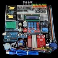 Стартовый набор для Arduino Uno R3-Uno R3, макетная плата и держатель, шаговый двигатель/Servo/1602 LCD/jumper Wire/UNO R3
