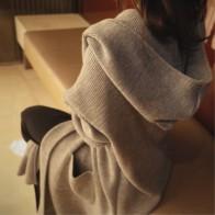 617.51 руб. 15% СКИДКА|Длинные кардиганы женские зимние куртки 2019 Осенние повседневные женские свитера с капюшоном теплые толстые карманы kiniting женские кардиганы-in Кардиганы from Женская одежда on Aliexpress.com | Alibaba Group