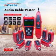 US $70.0 35% OFF|Network cable tester Cable tracker RJ45 cable tester NF 388 English version Audio Cable Tester Red color NF_388-in Networking Tools from Computer & Office on Aliexpress.com | Alibaba Group