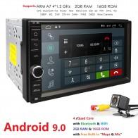 9639.87 руб. 22% СКИДКА|HIZPO 2G ram 2 Din SD Android 9,0 автомобильный без DVD радио плеер 7