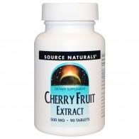 Source Naturals, Экстракт плодов вишни, 500мг, 90таблеток