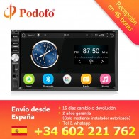 "US $95.99 25% OFF|Podofo Auto Radio 2 Din Android GPS Navigation Car Radio Audio Stereo 7"" 1024*600 Universal Multimedia Player Wifi Bluetooth USB-in Car Radios from Automobiles & Motorcycles on Aliexpress.com 