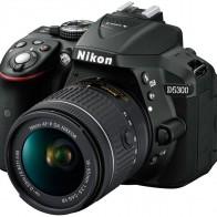 Зеркальный фотоаппарат Nikon D5300 Kit 18-55 VR, Black — купить в интернет-магазине OZON с быстрой доставкой