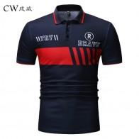 600.94 руб. 31% СКИДКА|Плюс размер Brand бренд 2019 Новая мужская рубашка поло высокого качества Мужская рубашка с коротким рукавом джемпер с рисунком летние мужские s рубашки поло-in Поло from Мужская одежда on Aliexpress.com | Alibaba Group