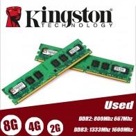509.58 руб. 22% СКИДКА|Б/у kingston ОЗУ компьютера DDR2 4 GB 2 GB 2g 4g PC2 6400 800 MHz ПК dimm память ram 240 контакты для AMD intel DDR3 8G 1333 Mhz 1600 Mhz-in ОЗУ from Компьютер и офис on Aliexpress.com | Alibaba Group