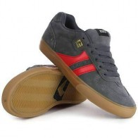 Globe Encore 2 Shoes in Charcoal Gum Red | NEW Globe Mens Skate Shoes  | eBay