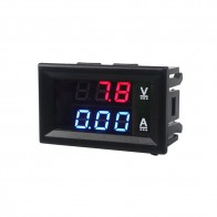 70.82 руб. |Высокое качество DC 100 В в 10A Вольтметр Амперметр синий + красный светодио дный светодиод Amp двойной цифровой вольтметр датчик купить на AliExpress