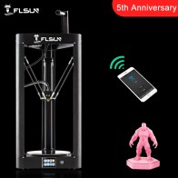 US $209.35 47% OFF|2019 NEW 3D Printer Flsun QQ S Kossel Auto Level Sensor Lattice HeatBed Pre assembly Titan Touch Wifi 32bits boad High speed-in 3D Printers from Computer & Office on Aliexpress.com | Alibaba Group
