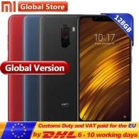 US $299.99 |Global Version Xiaomi POCOPHONE F1 6GB 128GB POCO F1 Snapdragon 845 Smartphone AI Dual Camera  6.18