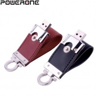 US $2.27 49% OFF|POWERONE metal keychain pendrive 8GB 16GB 32GB 64GB Leather USB Flash Drive Pen Drive Pendriver flash Memory Card memory stick-in USB Flash Drives from Computer & Office on Aliexpress.com | Alibaba Group