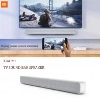 4971.64 руб. 23% СКИДКА|Оригинальный Xiaomi Bluetooth Саундбар для телевизора беспроводной динамик Саундбар поддержка оптический SPDIF AUX для домашнего кинотеатра-in Саундбары from Бытовая электроника on Aliexpress.com | Alibaba Group