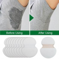 US $5.88 28% OFF|100pcs Underarm Ultrathin Absorbent Pads Summer Disposable Armpit Sweat Pad Anti Perspiration Body Cleaning Dry Pads Deodorant-in Deodorants & Antiperspirants from Beauty & Health on Aliexpress.com | Alibaba Group