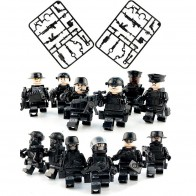 US $3.91 7% OFF|12pcs/set Legoingly Military SWAT Teams Figure Set City Police Weapon Model Building Blocks kits Brick Toys for Children kids-in Blocks from Toys & Hobbies on Aliexpress.com | Alibaba Group
