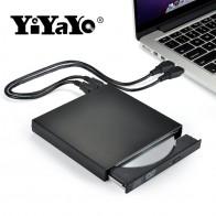 US $12.98 14% OFF|YiYaYo الخارجية DVD ROM محرك الأقراص الضوئية USB 2.0 CD/DVD ROM CD RW لاعب الموقد ضئيلة المحمولة قارئ مسجل Portatil ل محمول في YiYaYo الخارجية DVD ROM محرك الأقراص الضوئية USB 2.0 CD/DVD-ROM CD-RW لاعب الموقد ضئيلة المحمولة قارئ مسجل Portatil ل محمول من محركات الضوئية على Aliexpress.com | مجموعة Alibaba
