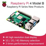 US $49.2 15% OFF|New 2019 Official Original Raspberry Pi 4 Model B Development Board Kit RAM 2G/4G 4 Core CPU 1.5Ghz 3 Speeder Than Pi 3B+-in Demo Board from Computer & Office on AliExpress