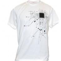 606.39 руб. 45% СКИДКА|Компьютер Процессор Core сердце футболка для мужчин