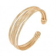 US $3.41 10% OFF|MxGxFam Bohemia Style Circle Bangles and Bracelets ( Openning ) for Women Retro Jewelry 18 k / Rose / White  Gold Color -in Bangles from Jewelry & Accessories on Aliexpress.com | Alibaba Group