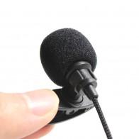 53.84 руб. 33% СКИДКА|2 м Универсальный Портативный 3,5 мм миниатюрная гарнитура с микрофоном нагрудные Lavalier Клип микрофон мини аудио микрофон для портативных ПК Lound Динамик купить на AliExpress