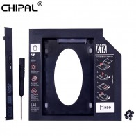 US $3.39 |CHIPAL Universal 2nd HDD Caddy 9.5mm SATA 3.0 for 2.5