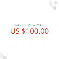 6815.04 руб. |Подарочный сертификат AliExpress на US $ 100 купить на AliExpress