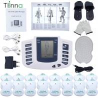 Tens Electronic Acupuncture Full Body Slimming Pulse Massage Muscle Stimulator Muscle Pain Relief Therapy Health Care Massager