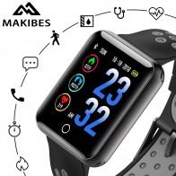 1532.71 руб. 40% СКИДКА|Makibes CK01 умные часы Для Мужчин