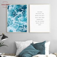 US $3.98 47% OFF|900D Posters And Prints Wall Art Canvas Painting Wall Pictures For Living Room Nordic Decoration Seascape NOR007-in Painting & Calligraphy from Home & Garden on Aliexpress.com | Alibaba Group