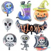 US $0.5 31% OFF|1 sztuk szkielet balon demon balon folia aluminiowa balon dekoracje urodzinowe dla dzieci baby shower dostaw zabawki dla dzieci prezent w Balony i akcesoria od Dom i ogród na Aliexpress.com | Grupa Alibaba