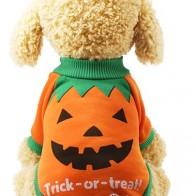 Свитер с рисунком Хэллоуина для собак 1шт - Костюмы для животных