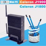 5471.14 руб. 33% СКИДКА|Celeron J1900 J1800 2,41 ГГц EGLOBAL мини ПК четырехъядерный процессор HDMI монитор VGA мини компьютер Windows 7 безвентиляторный дизайн 1080 P ТВ box PC купить на AliExpress