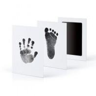 1/2 шт Новорожденный ребенок, отпечаток отпечатка пальца, нетоксичный, InkPad, сделай сам, фоторамка, Новорожденный ребенок, рука и отпечаток пал... - Для вечеров с детьми