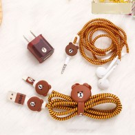 € 2.25 49% de DESCUENTO|Nuevo Cable bobinador Diy Set TPU espiral USB Cable de carga Protector auricular protección para iphone 5 5s 6 7 8 cargador pegatinas-in Bobinadora de cable from Productos electrónicos on Aliexpress.com | Alibaba Group