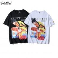 758.17 руб. 43% СКИДКА|BOLUBAO, модная новинка 2019, Мужская футболка с принтом Брюса Ли, мужские футболки в стиле хип хоп, мужские футболки, уличная одежда в стиле хип хоп-in Футболки from Мужская одежда on Aliexpress.com | Alibaba Group