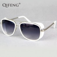 310.07 руб. 5% СКИДКА|QIFENG Steampunk Goggles Sunglasses Men Brand Designer Vintage Iron Man 3 Sun Glasses For Retro UV400 Male Oculos de sol QF027-in Мужские солнцезащитные очки from Аксессуары для одежды on Aliexpress.com | Alibaba Group