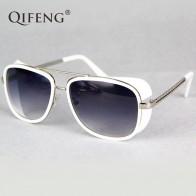 310.07 руб. 5% СКИДКА|QIFENG Steampunk Goggles Sunglasses Men Brand Designer Vintage Iron Man 3 Sun Glasses For Retro UV400 Male Oculos de sol QF027-in Мужские солнцезащитные очки from Аксессуары для одежды on Aliexpress.com | Alibaba Group