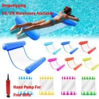 Горячая Распродажа, летний водный гамак, игрушки для воды, складной надувной плавающий матрас для бассейна - Пляжные круги, матрасы для плавания
