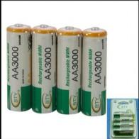 430.93 руб. 16% СКИДКА|10x AA 3000 1,2 V Quanlity аккумуляторная батарея аа 3000 mAh BTY Ni MH 1,2 V аккумуляторная батарея 2A Baterias Bateria Batterie 3000-in Подзаряжаемые батареи from Бытовая электроника on Aliexpress.com | Alibaba Group