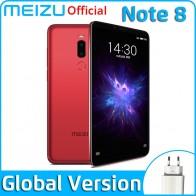 Meizu Note 8, 4 ГБ, 64 ГБ, глобальная версия, мобильный телефон Snapdragon 632, четыре ядра, Note8, смартфон, полностью металлический корпус, двойная камера заднего вида-in Мобильные телефоны from Мобильные телефоны и телекоммуникации on AliExpress
