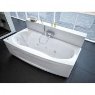 Купить Ванна акриловая Пандора 160*75 левая + каркас + сифон + экран Акватек в Ульяновске - Ванны акрил