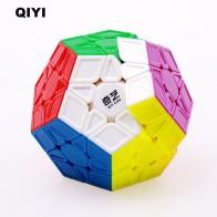 Оригинальный Qiyi Megaminx Magic Скорость Cube 12 стороны Stickerless Cubo magico Профессиональный головоломки Обучение Образование игрушка для детей купить на AliExpress