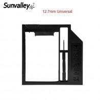 169.37 руб. 20% СКИДКА|Sunvalley Новый 12,7 мм универсальный пластиковый 2nd HDD Caddy 2,5