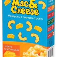 Купить Foody Foody Макароны Mac&Cheese с сырным соусом Чеддер Классический, 143 г по низкой цене с доставкой из маркетплейса Беру