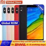 11504.37 руб. |Оригинальный Xiaomi Redmi Note 5 4 GB 64 GB мобильный телефон Snapdragon S636 Octa Core 4000 mAh MIUI9 полноэкранные 5,99