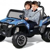 Детский электромобиль Peg-Perego Polaris Ranger RZR 900 Blue OD0084 - Детские электромобили