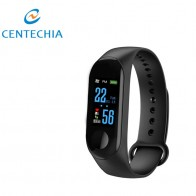 US $4.07 20% OFF|New Smart Bracelet M3 Wristband Waterproof Touch Screen Bluetooth Control Fitness Pedometer For iphone With Heart Rate Function-in Pedometers from Sports & Entertainment on Aliexpress.com | Alibaba Group
