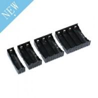 18650 чехол для внешнего аккумулятора 1X 2X 3X 4X 18650 Держатель для аккумулятора Коробка Для Хранения Чехол держатель 1 2 3 4 слота контейнер для акку...