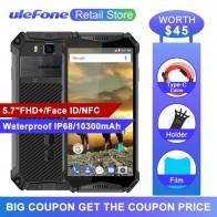 18407.39 руб. |Ulefone Armor 3 водонепроницаемый IP68 мобильный телефон 5,7