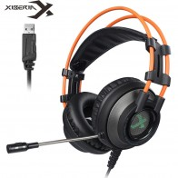 US $25.38 32% OFF|XIBERIA K9 PC Gamer Headset USB Virtual 7.1 Sound Gaming Headphones casque Stereo Bass Best Computer Headsets with Mic LED Light-in Headphone/Headset from Consumer Electronics on Aliexpress.com | Alibaba Group